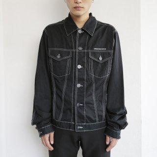old versace stitch trucker jacket by ittierre s.p.a