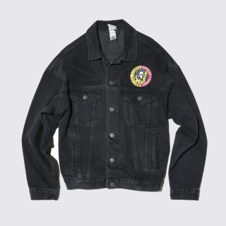 vintage rolling stones uoodoo lounge trucker jacket