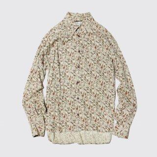 vintage flower rayon shirt