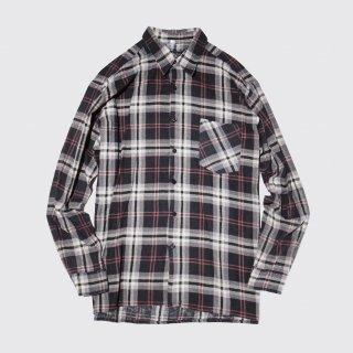 vintage print flannel shirt