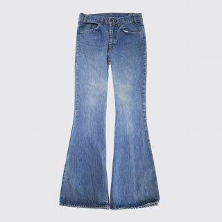 vintage levi's 684 big bell flare jeans