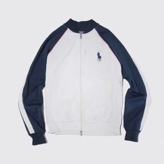 vintage polo ralph lauren jersey track jacket