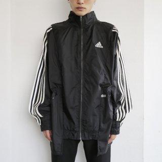 remake 6line nylon track jacket