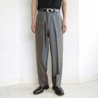 old iridescent tapered slacks