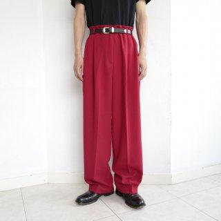 old tuck straight slacks