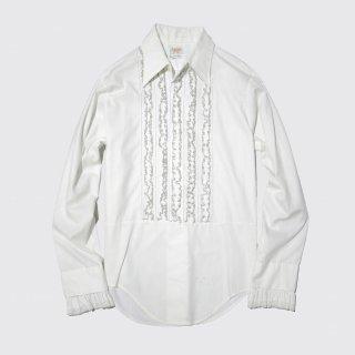 vintage lace frill shirt