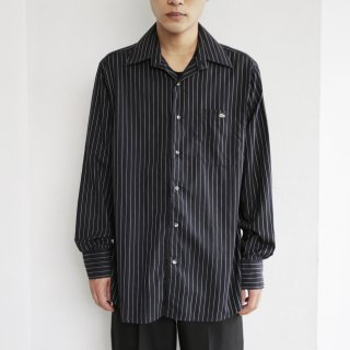 old racoste stripe shirt