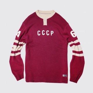 vintage союз советских социалистических республик loose sweater