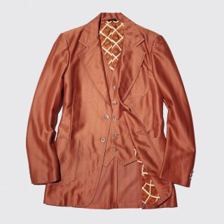 vintage 2piece poly tailored jacket