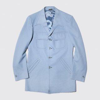 vintage stitch poly jacket