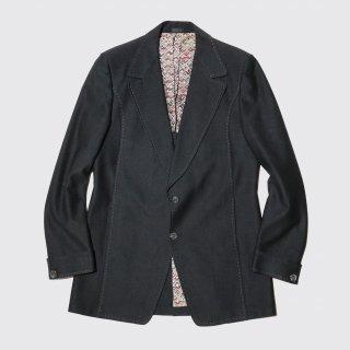 vintage stitch poly tailored jacket