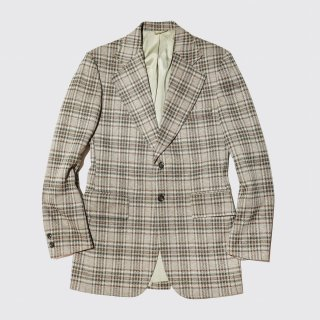 vintage jcpenny check tailored jacket
