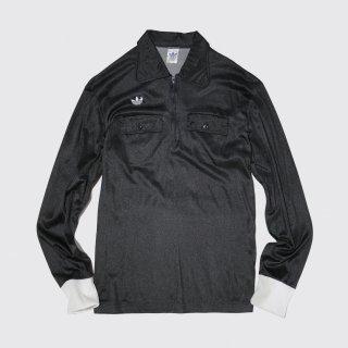 vintage french adidas ventex half zip shirt