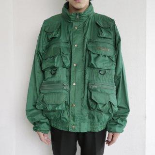 old utility nylon jacket