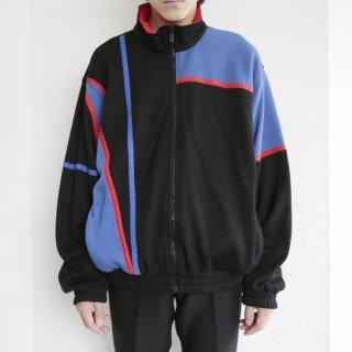 old sweat track jacket