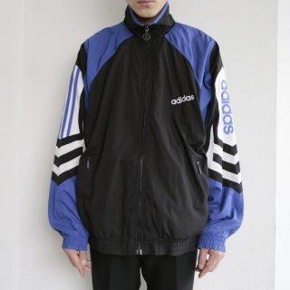 old adidas nylon track jacket