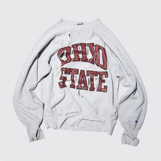 vintage broken sweat , 90's champion reverse weave , ohio state