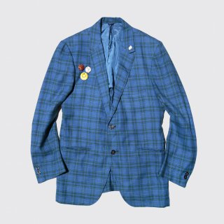 vintage towncraft check tailored jacket