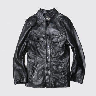 vintage euro 4p leather jacket
