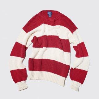 vintage gap border cotton sweater