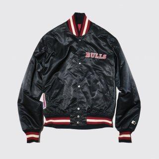 vintage starter nba bulls jacket