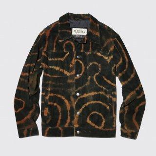 vintage wilson dyed leather jacket