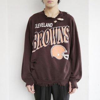 boro custom sweat , browns