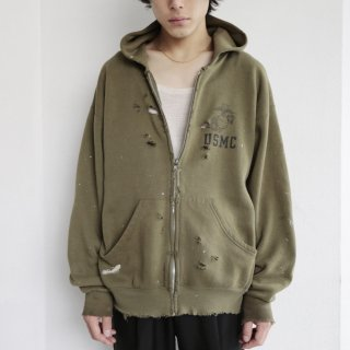 boro custom hoodie , usmc