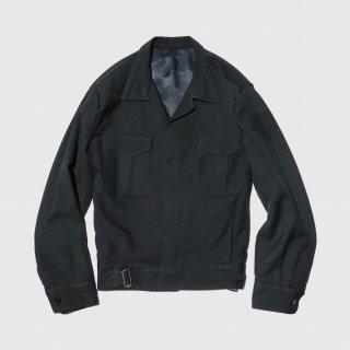 vintage gabadine aviator jacket
