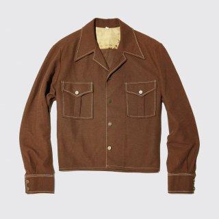 vintage short poly jacket