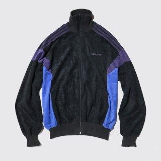 vintage french adidas velvet track jacket