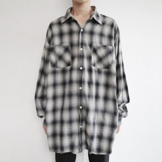 old carhartt check flannel shirt