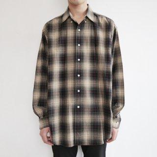 old polo ralph lauren ombre check cotton shirt