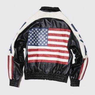 vintage frag leather jacket