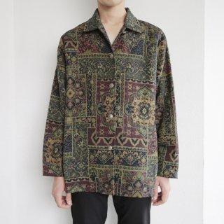 old tapestry gobelin jacket