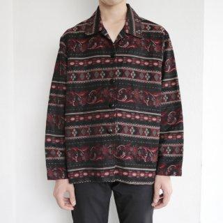 old oriental jacquard jacket