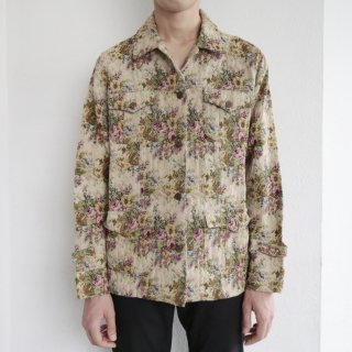old flower gobelin jacket