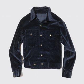 vintage velvet tracker jacket