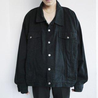 old wide trucker jacket