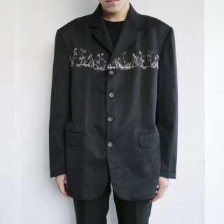 old broderie tailored jacket