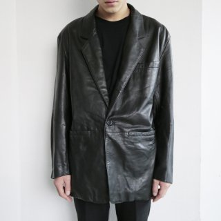 old wilsons leather tailored jacket