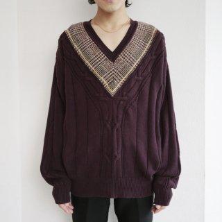 old cotton tilden sweater