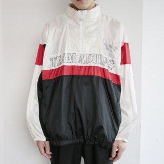old 90's adidas nylon track jacket