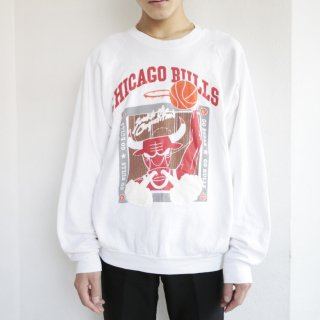 old early90's chicago bulls sweat , body-fruits of the loom