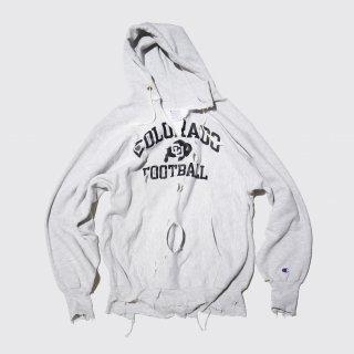 vintage broken hoodie , body-90's champion reverse weave
