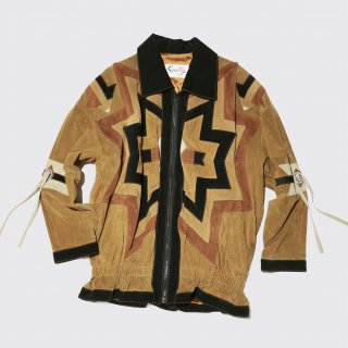 vintage scully chimayo leather jacket