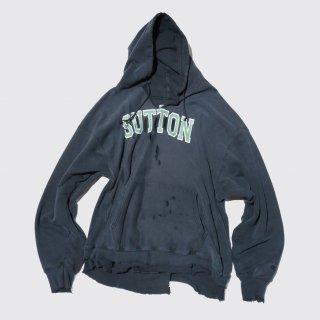 vintage broken hoodie , body-y2k champion reverse weave