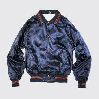 vintage illini football nylon jacket