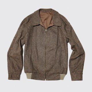 vintage reversible tweed jacket