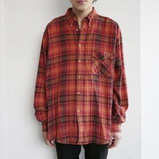 old marllboro check l/s shirt